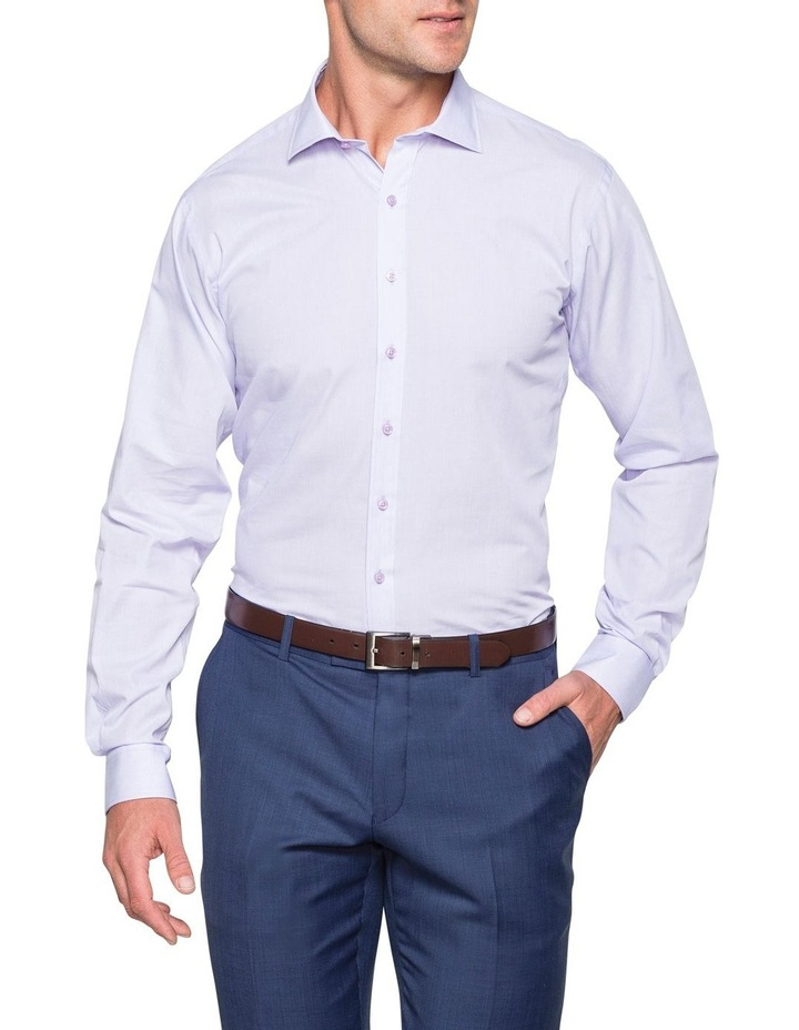 MICROSTRIPE BUSINESS SHIRT BLUE image 2