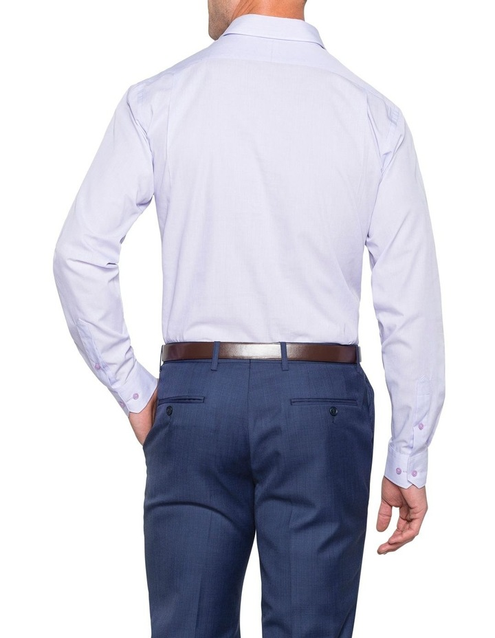 MICROSTRIPE BUSINESS SHIRT BLUE image 3