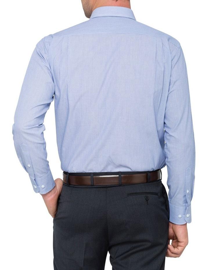 STRIPE BUSINESS SHIRT BLUE image 3