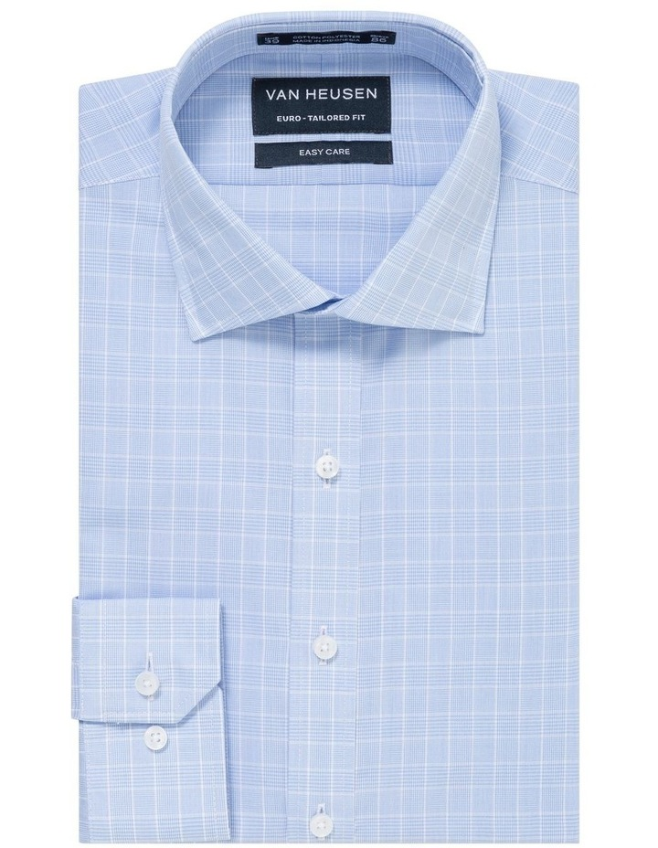 CHECK BUSINESS SHIRT BLUE/WHITE image 1