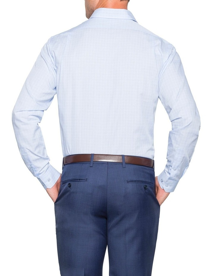 CHECK BUSINESS SHIRT BLUE/WHITE image 3