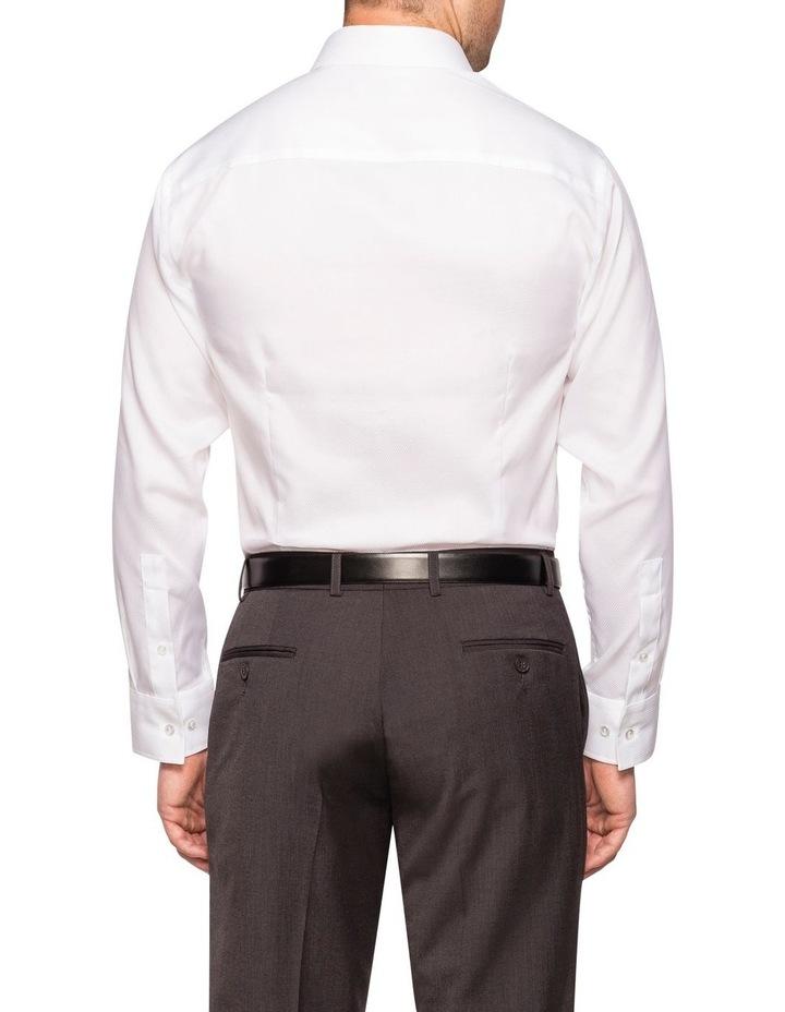 DOBBY BUSINESS SHIRT WHITE image 2