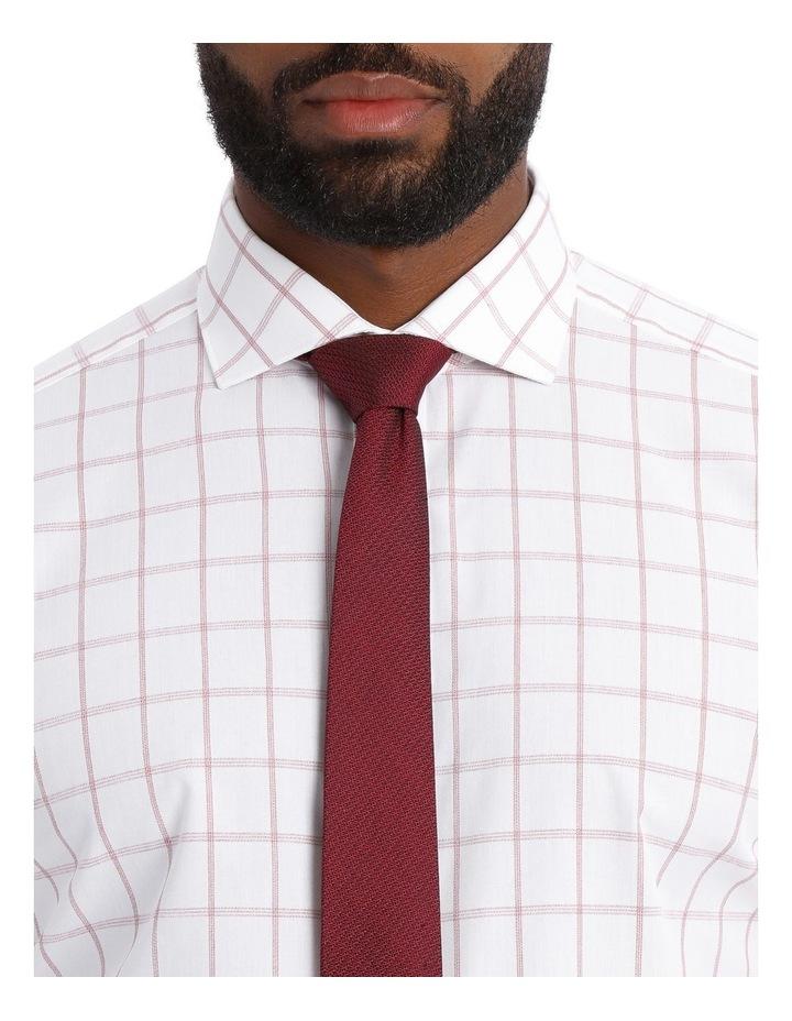 Performance Check Business Shirt image 4