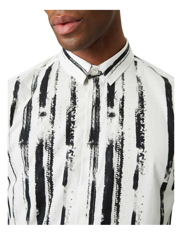 Marconi Print Business Shirt White image 2