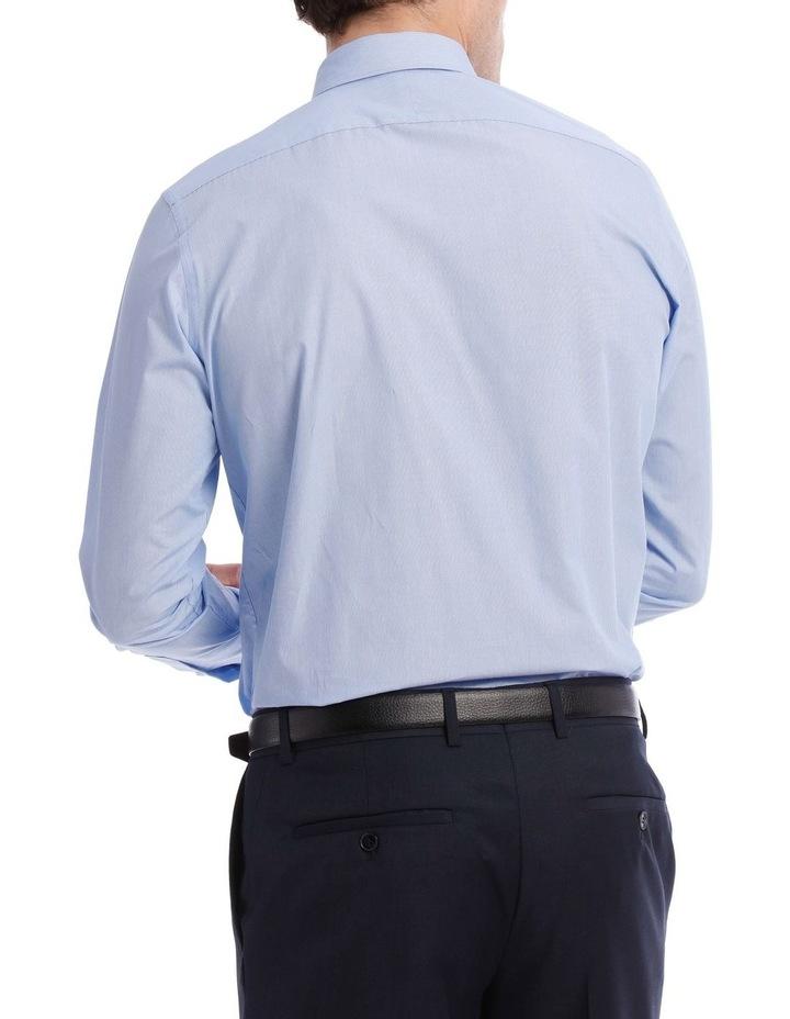 Slim Stripe Business Shirt Sky image 3