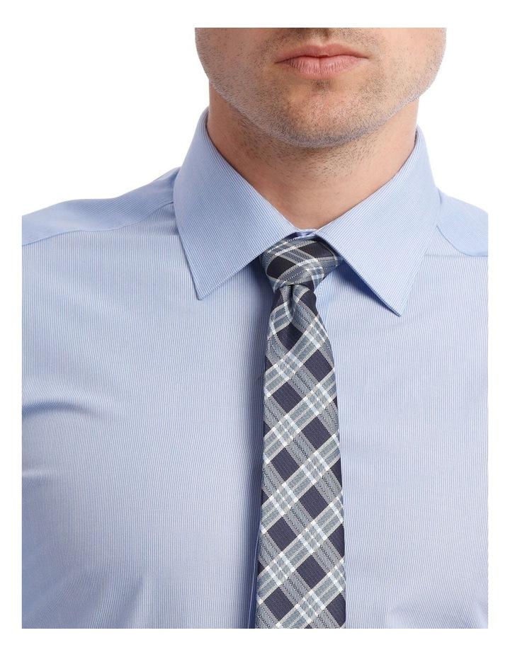 Slim Stripe Business Shirt Sky image 4