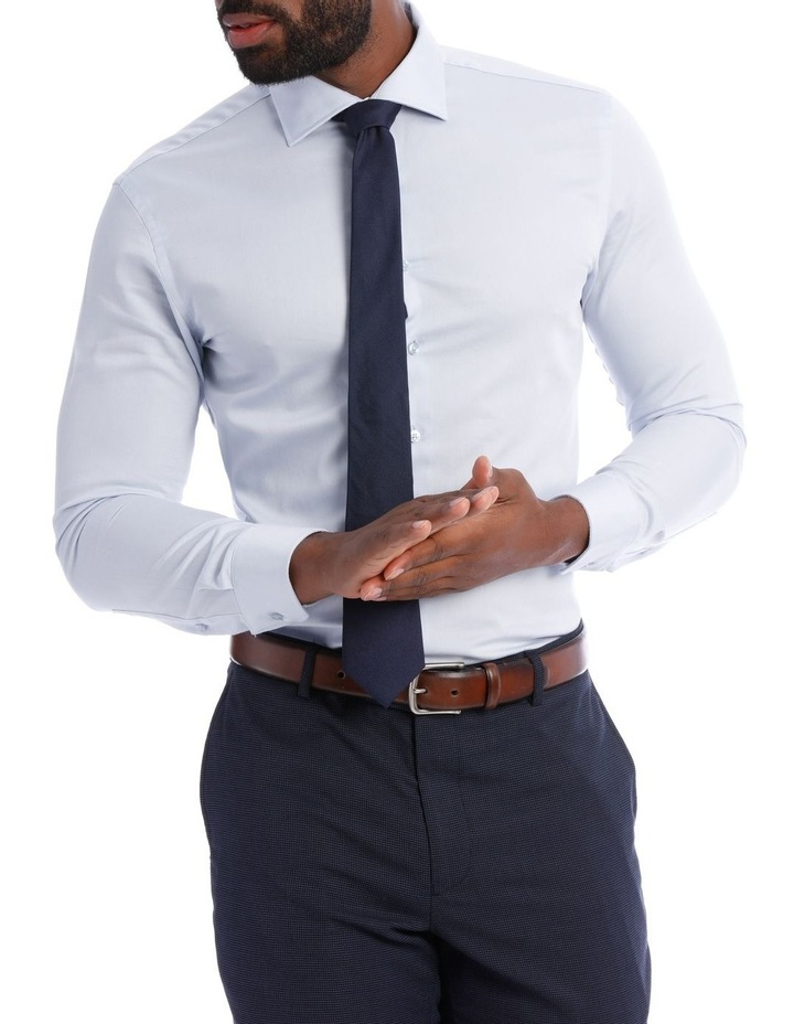 Solid Business Shirt image 1