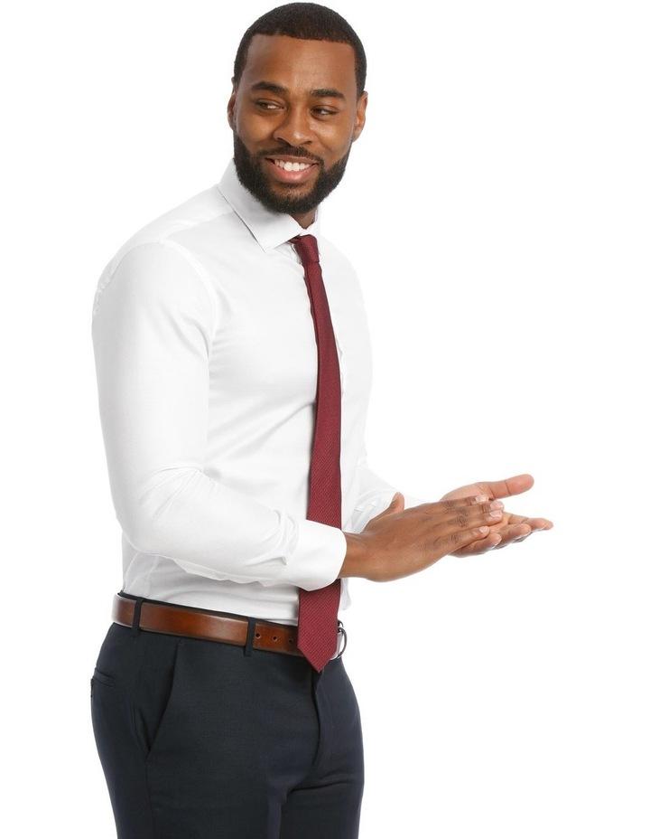 Textured Plain Business Shirt image 2