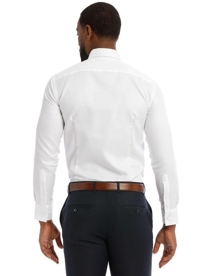 Textured Plain Business Shirt image 3