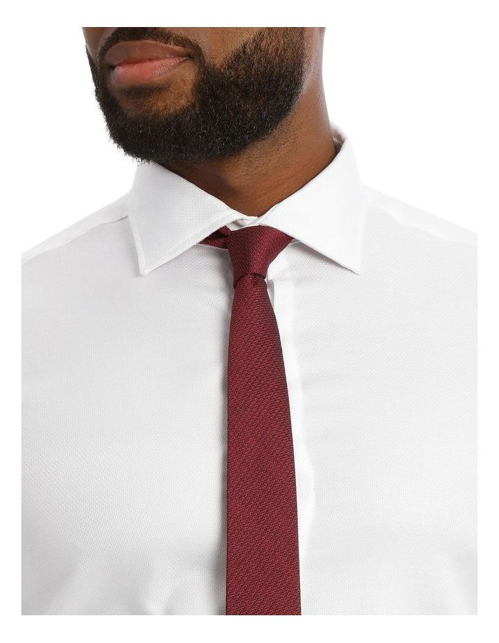 Textured Plain Business Shirt image 4