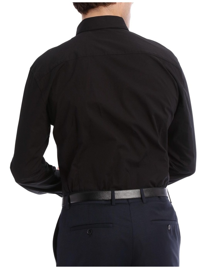 Solid Business Shirt image 3