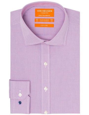 3490c6ca673e Van Heusen Euro Check Business Shirt
