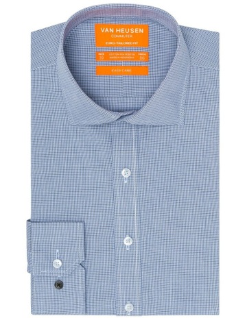 66b9bb29 Van Heusen Euro Check Business Shirt