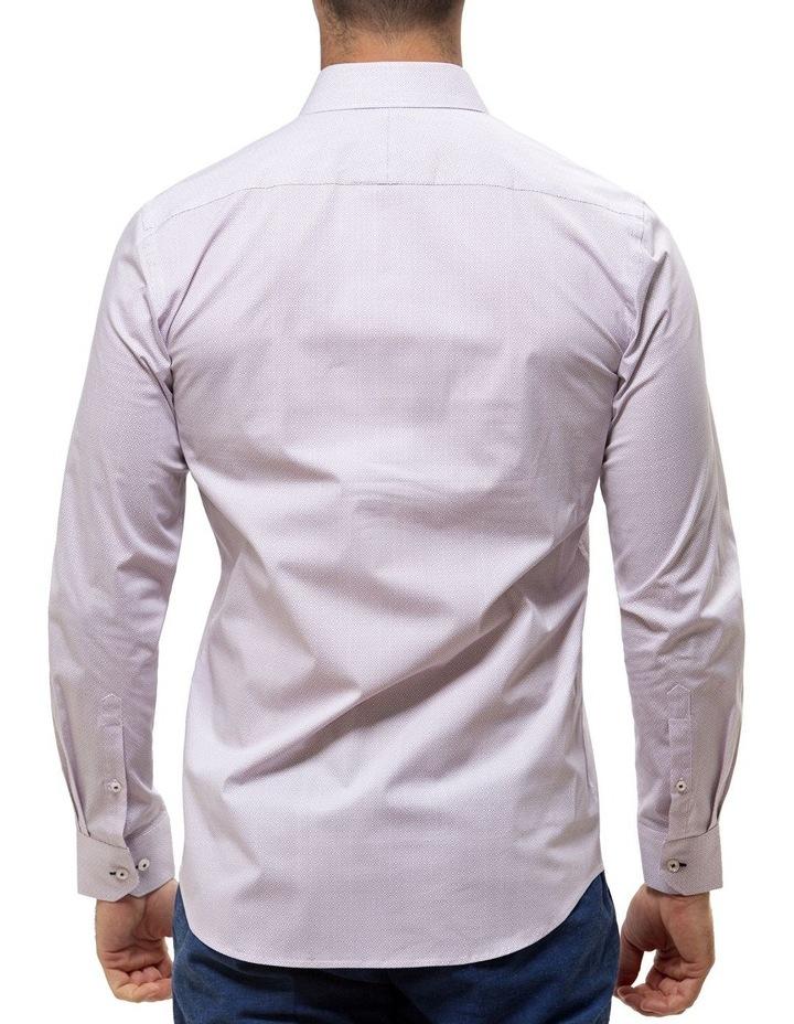 Career Stretch Geo Print Business Shirt image 2