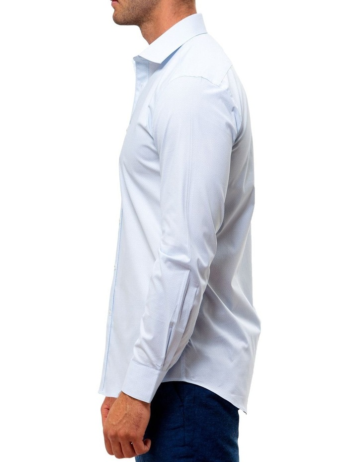 Career Stretch Geo Print Business Shirt image 3