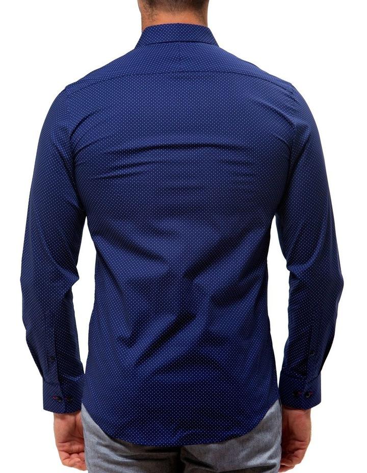 Career Stretch Dash Print Business Shirt image 2