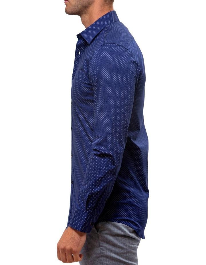 Career Stretch Dash Print Business Shirt image 3