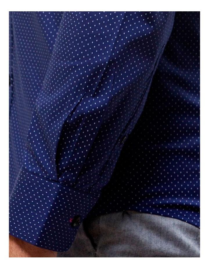 Career Stretch Dash Print Business Shirt image 4