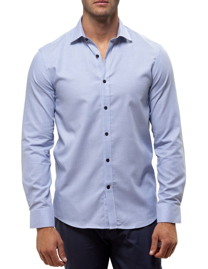 Luxe Three Tone Textured Business Shirt image 1