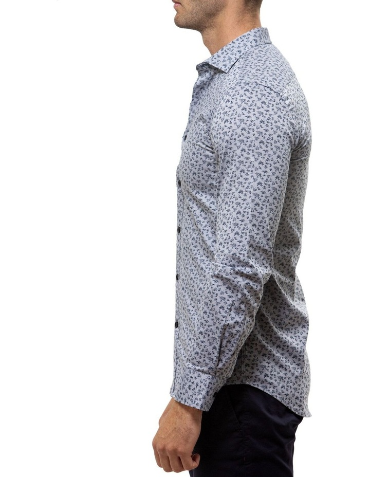 Luxe Leaf Print Oxford Business Shirt image 3