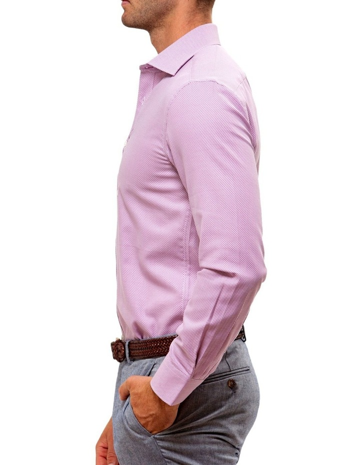 Luxe Three Tone Textured Business Shirt image 3