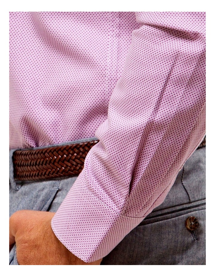 Luxe Three Tone Textured Business Shirt image 4