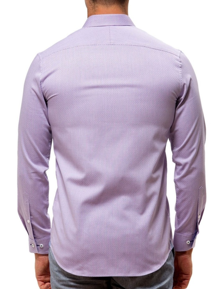 Luxe Textured Dobby Business Shirt image 2