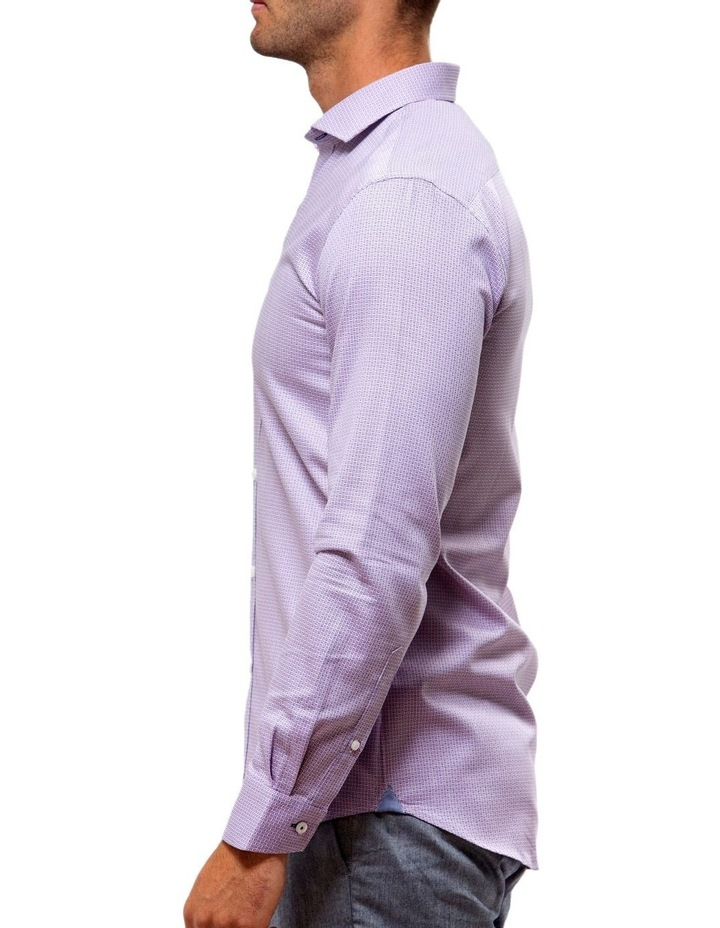 Luxe Textured Dobby Business Shirt image 3