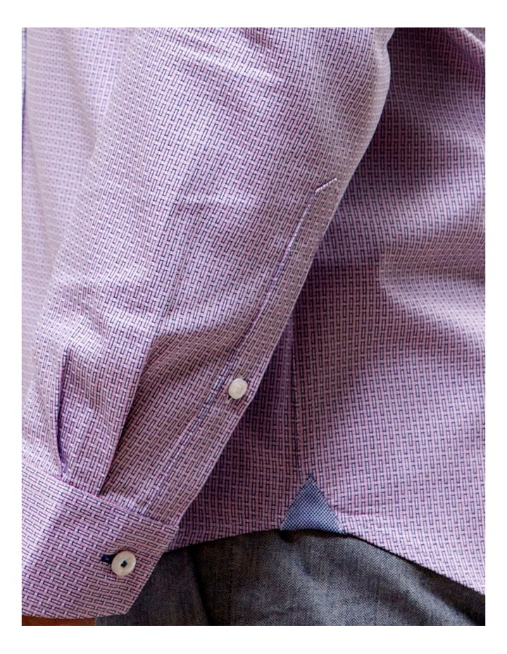 Luxe Textured Dobby Business Shirt image 4