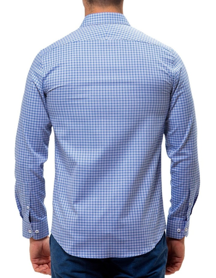 6ce347a7df Luxe Three Tone Textured Check Business Shirt