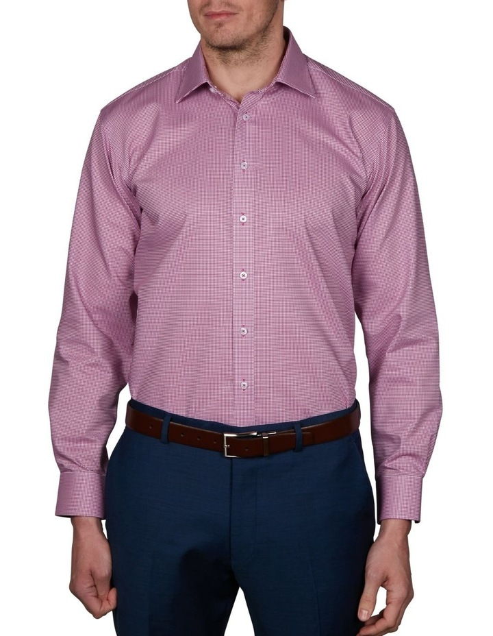 Harrow Performance Slim Check Business Shirt image 1