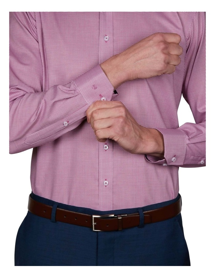 Harrow Performance Slim Check Business Shirt image 4