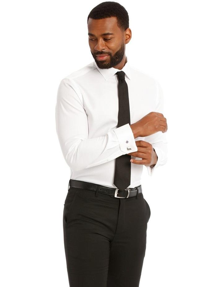Devon Slim Solid Business Shirt image 1