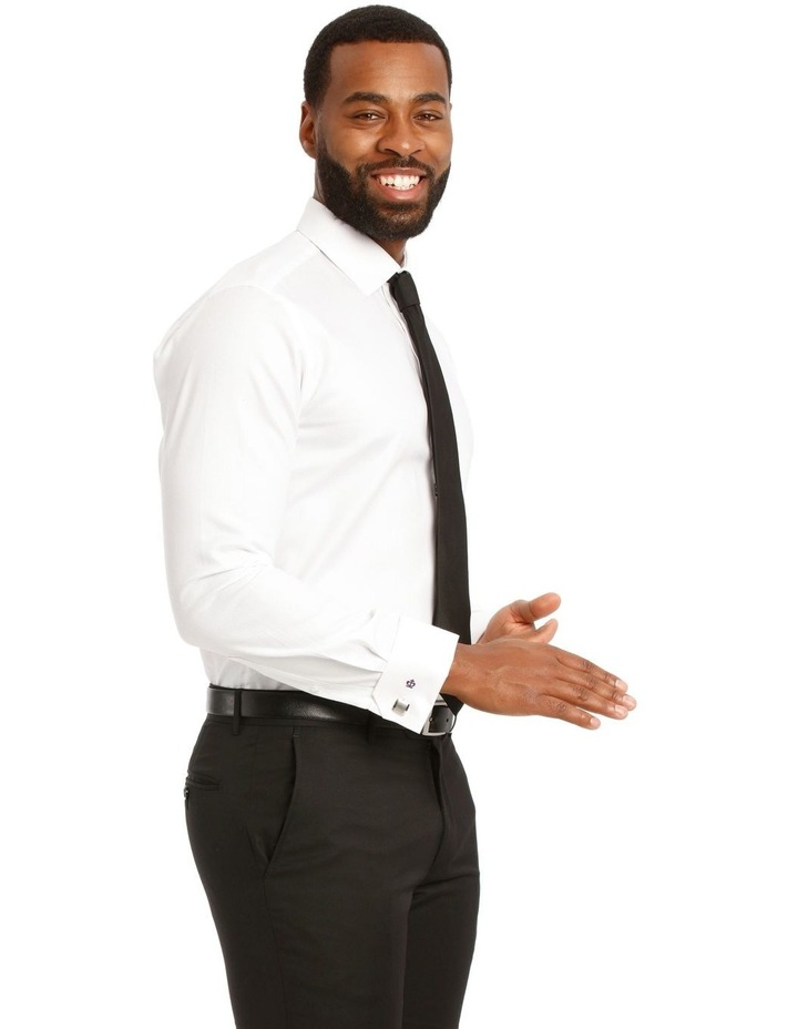 Devon Slim Solid Business Shirt image 2