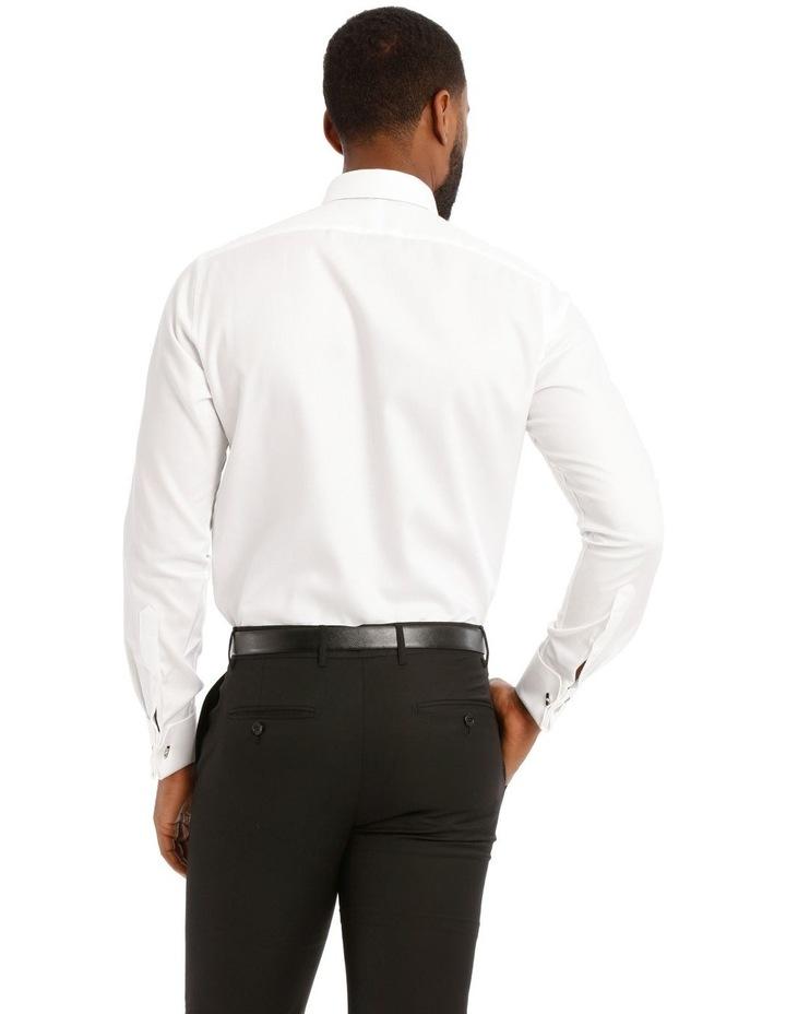 Devon Slim Solid Business Shirt image 3