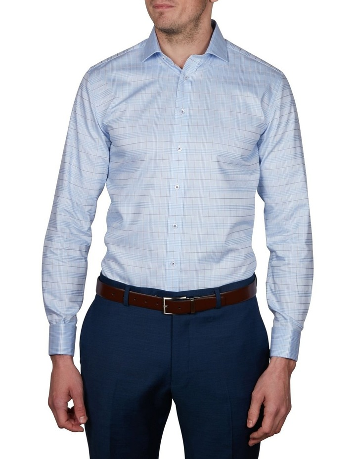 Aberystwyth Slim Check Business Shirt image 1
