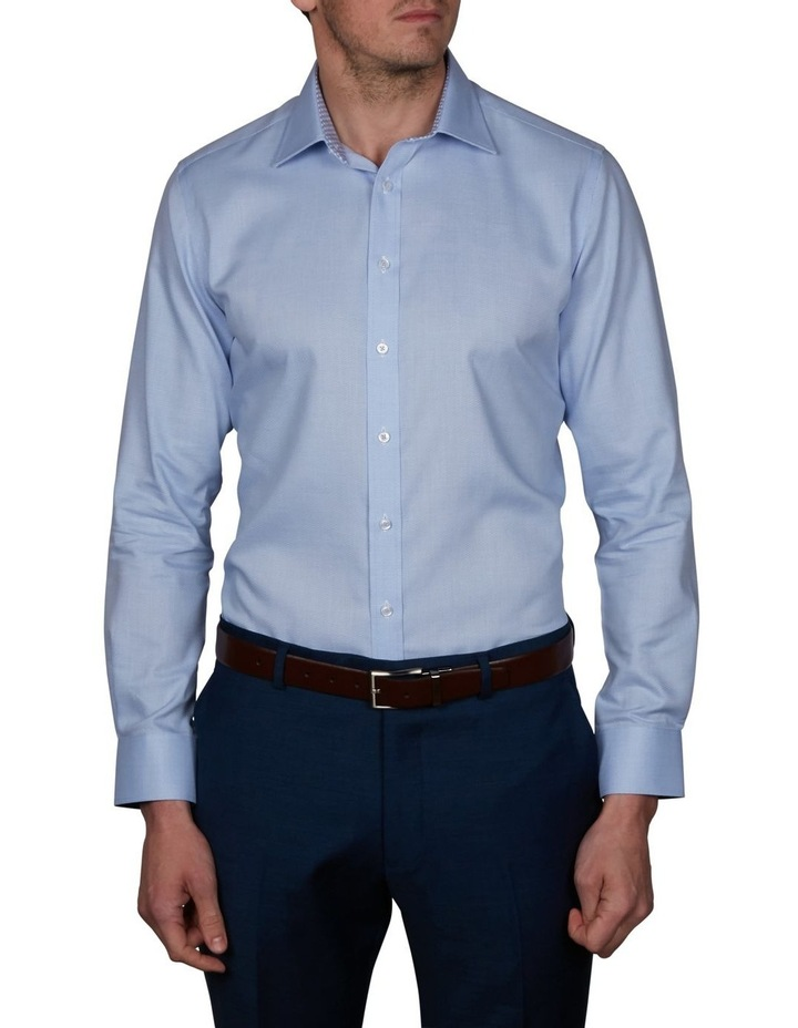 Zig-Zag Performance Slim Dobby Business Shirt image 1