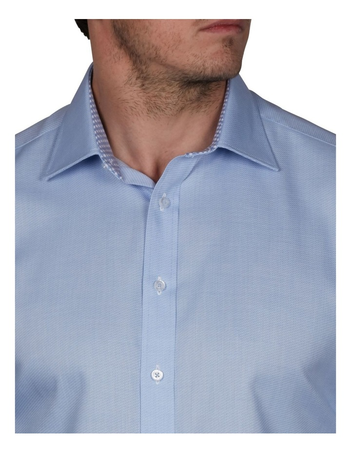 Zig-Zag Performance Slim Dobby Business Shirt image 3