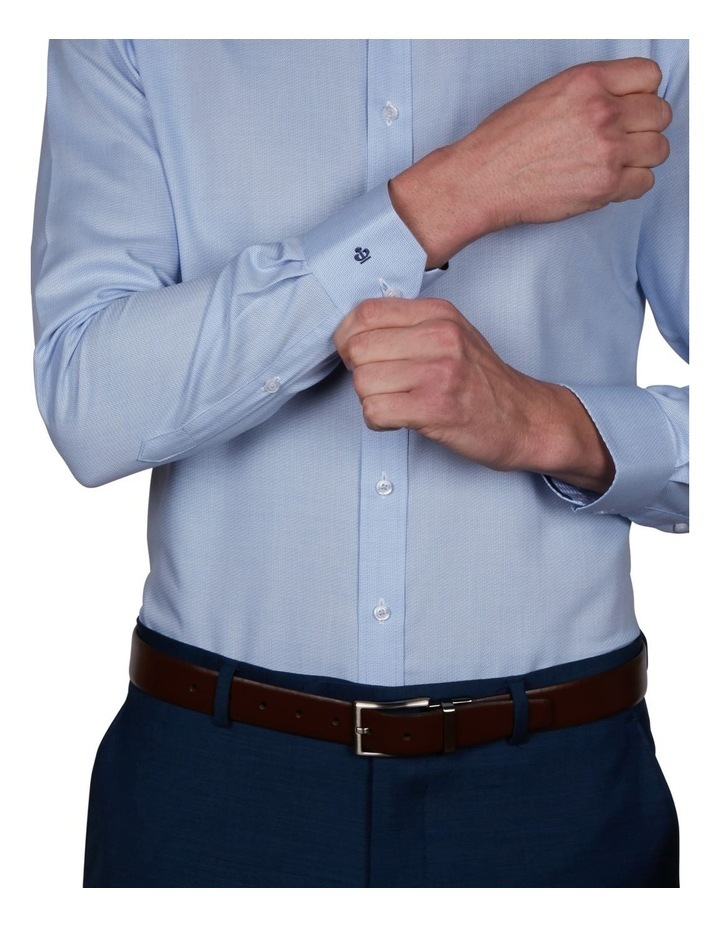 Zig-Zag Performance Slim Dobby Business Shirt image 4