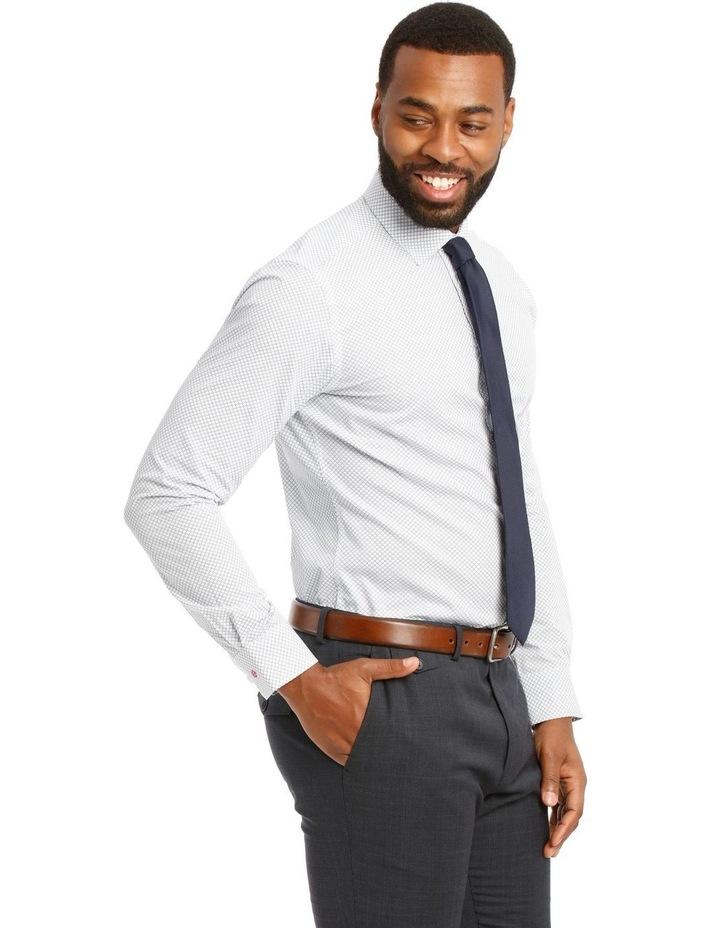 Padstow Slim Print Business Shirt image 2