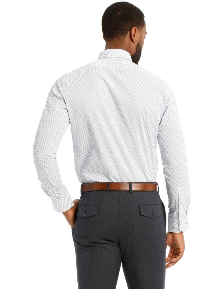 Padstow Slim Print Business Shirt image 3