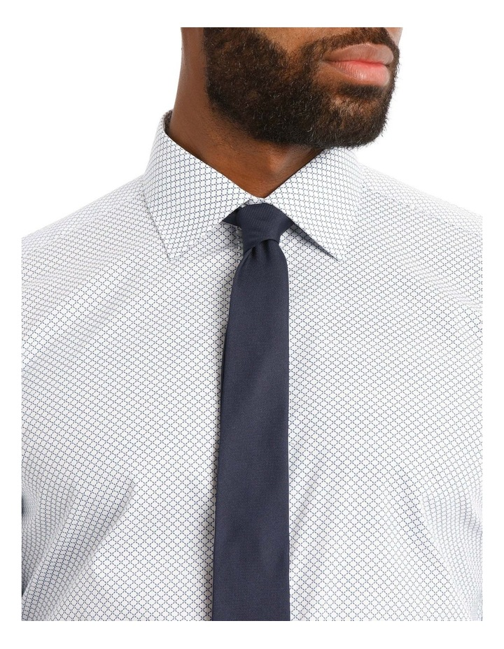 Padstow Slim Print Business Shirt image 4