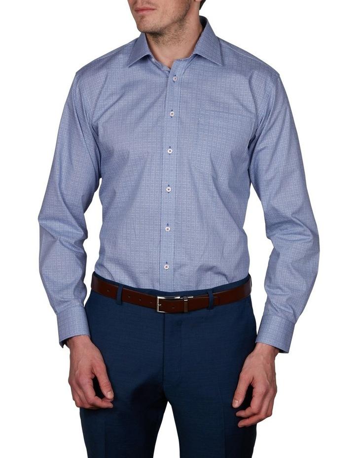 Kent Tailored Check Business Shirt image 1