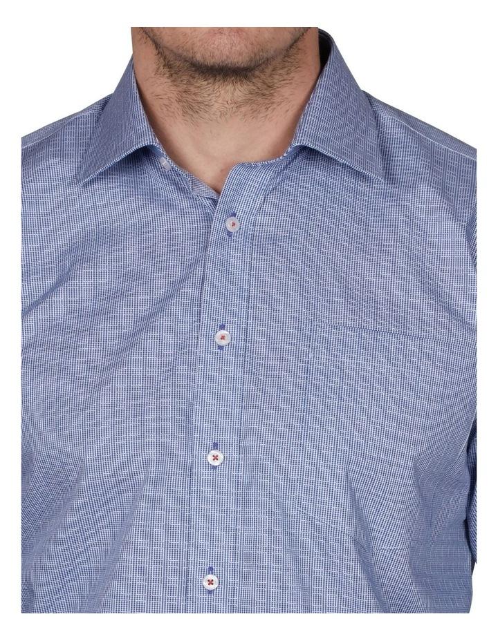 Kent Tailored Check Business Shirt image 3