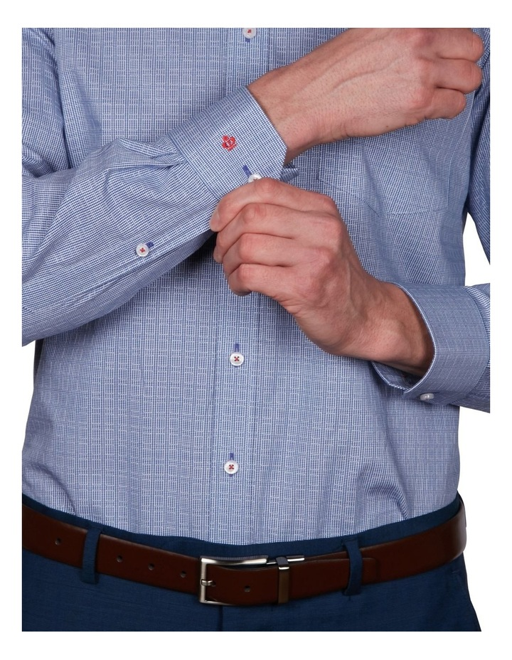 Kent Tailored Check Business Shirt image 4