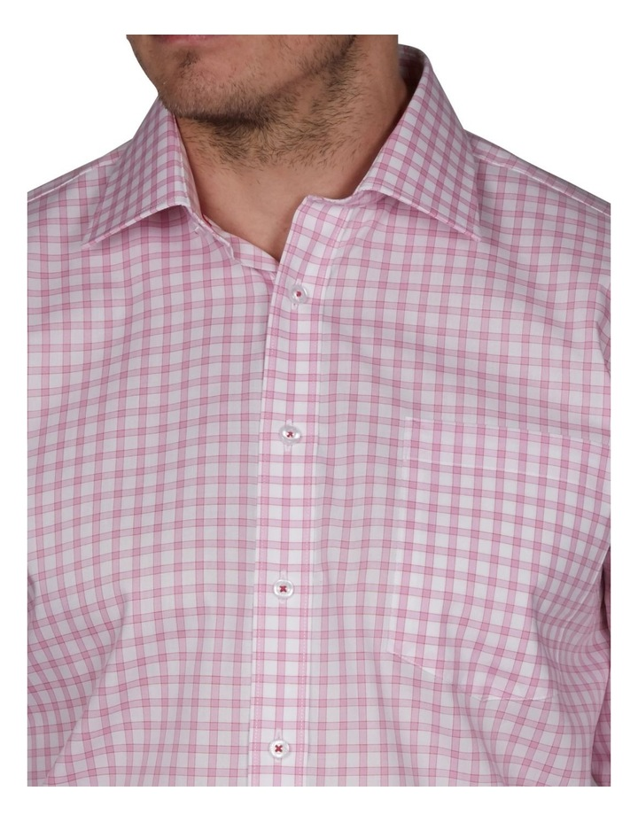 Cromarty Tailored Check Business Shirt image 3