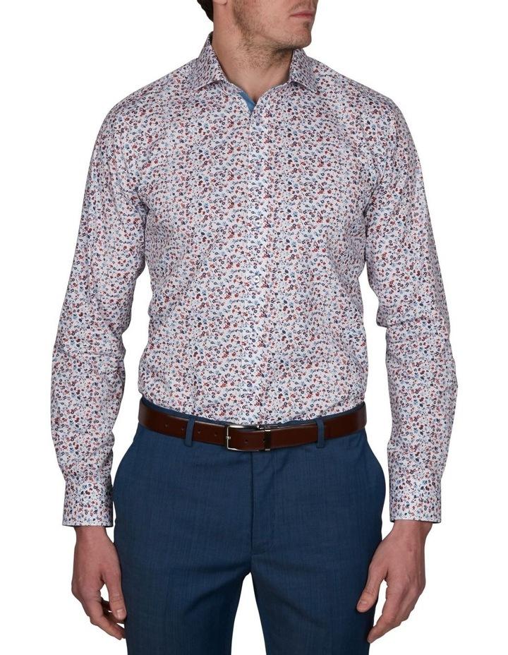 Blot Extra Slim Print Business Shirt image 1