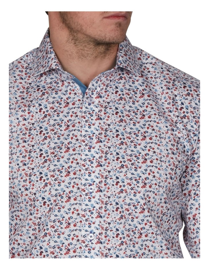 Blot Extra Slim Print Business Shirt image 3