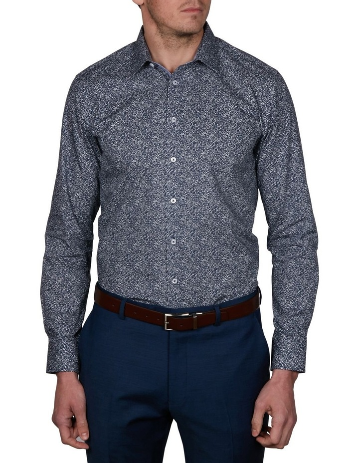 Blot Slim Print Business Shirt image 1