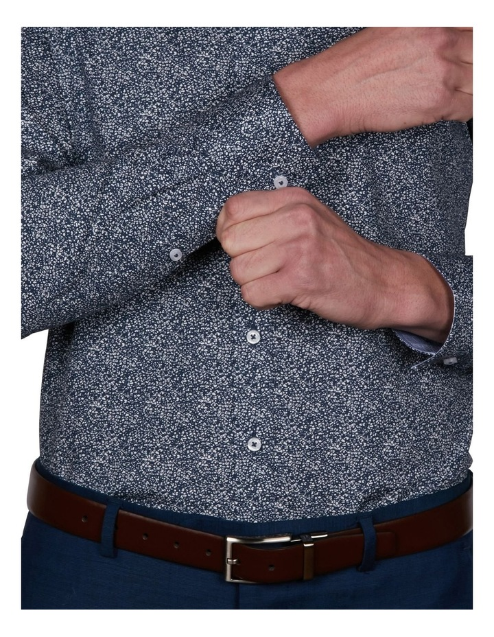 Blot Slim Print Business Shirt image 4